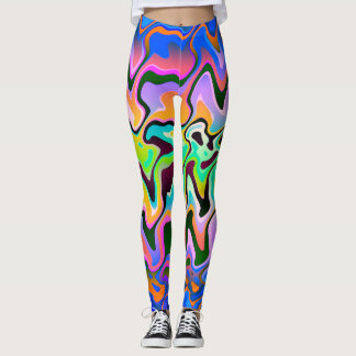 Lines♥ color leggings