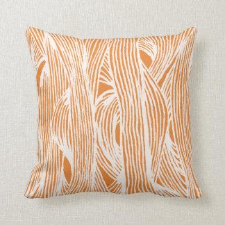 LINEs fibers organic pattern Cushion