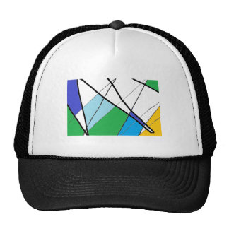 Lines Trucker Hats