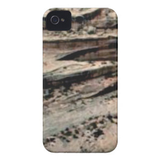 lines in the white desert iPhone 4 Case-Mate case