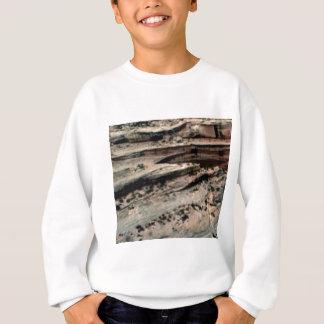 lines in the white desert sweatshirt