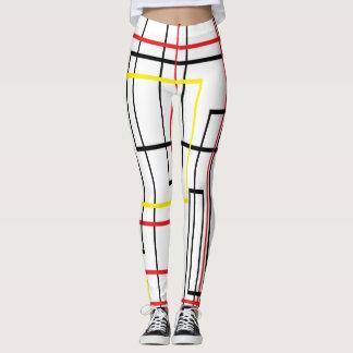 Lines Network Cool Leggings
