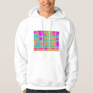 """""""Lines of Communication"""" Abstract - Customized Hoodies"""