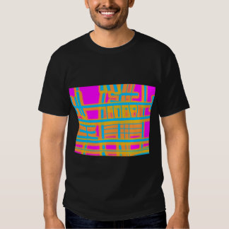 """Lines of Communication"" Abstract T-shirts"