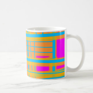 """Lines of Communication"" Abstract - V2 Classic White Coffee Mug"