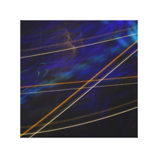 Lines of Light Gallery Wrapped Canvas
