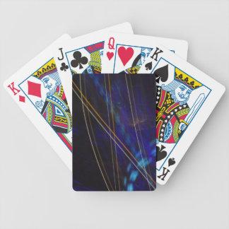 Lines of Light Card Deck Poker Deck