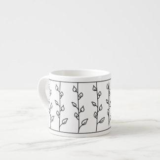 Lines of Vines Espresso Cup