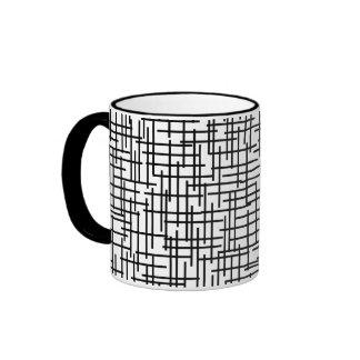 Lines Ringer Mug