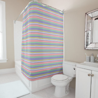 Lines Shower Curtain