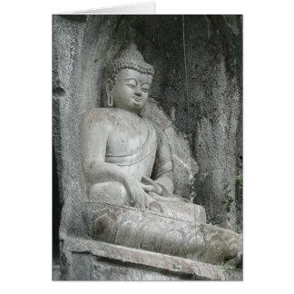Ling Yin Temple Buddha Card