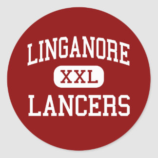 Linganore - Lancers - High - Frederick Maryland Classic Round Sticker