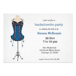 Lingerie Bachelorette Party Custom Invitation