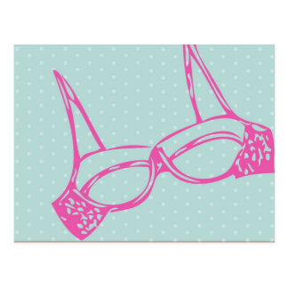 lingerie postcard