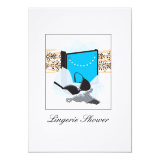"Lingerie Shower Invitation 5"" X 7"" Invitation Card"
