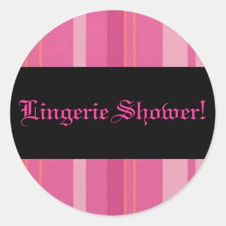 Lingerie Shower Sticker