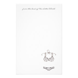 Lingerie Stationary Stationery Paper