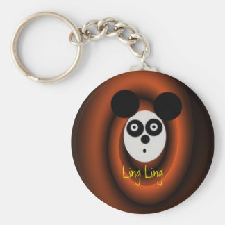 LingLing, Ling Ling Basic Round Button Key Ring