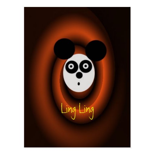 LingLing, Ling Ling Postcard