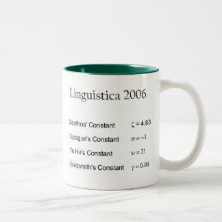 Linguistica 2006 Two-Tone coffee mug