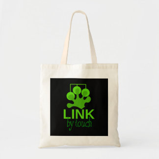 link by touch tote bag