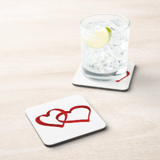 Linked Hearts Coaster Set