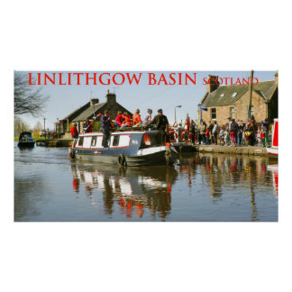 linlithgow basin scotland poster