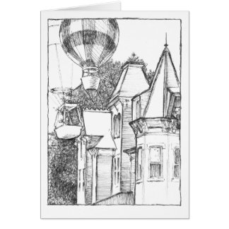 Linn and Allegheny Streets, Bellefonte, PA Card