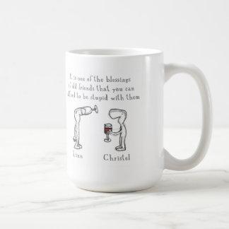 Linn and Christel Coffee Mug