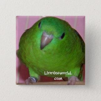 Linnie Parakeet Button