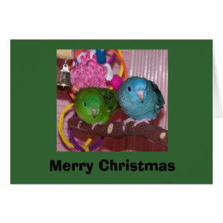linnies2_sm, Merry Christmas Card