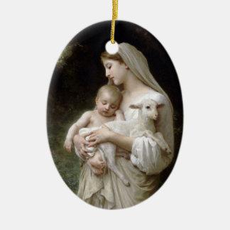 L'Innocence Ceramic Ornament