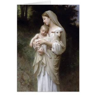 L'Innocence, William-Adolphe Bouguereau Greeting Card