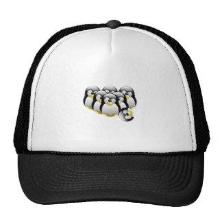 Linux Bowling Trucker Hat
