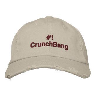 Linux - #!CrunchBang Embroidered Hat