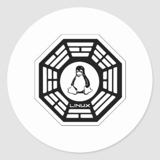 Linux Dharma Classic Round Sticker