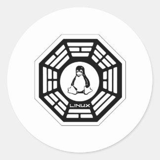 Linux Dharma Classic Round Sticker