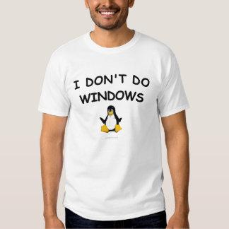 Linux - I Don't Do Windows T-Shirt