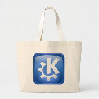Linux KDE Jumbo Tote Bag