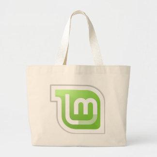 Linux Mint Large Tote Bag