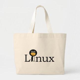 Linux Penguin! Jumbo Tote Bag