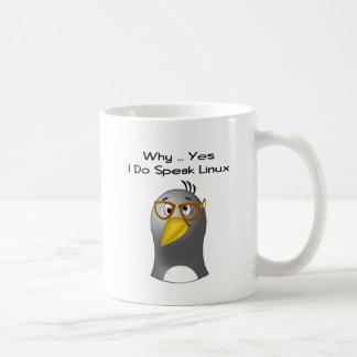 Linux Penguin Nerd Mug