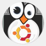 Linux Penguin Ubuntu Sticker