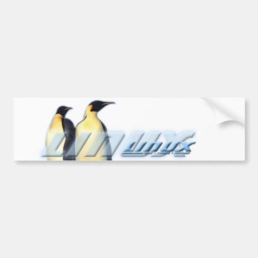 Linux Penguins Bumper Stickers
