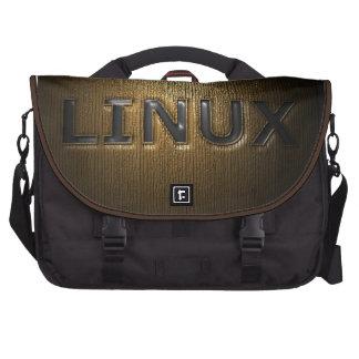 LINUX Pressed Laptop Commuter Bag