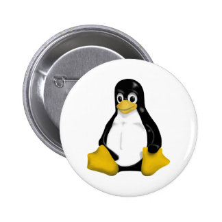 Linux Products & Designs! 6 Cm Round Badge