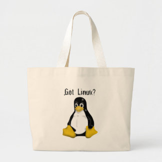 Linux Products & Designs! Jumbo Tote Bag