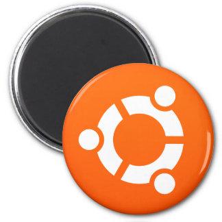 Linux Ubuntu Round Magnet