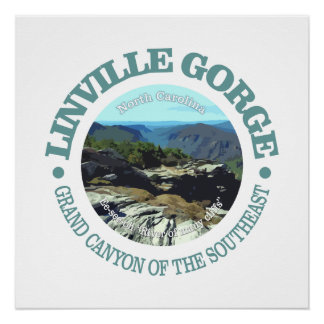 Linville Gorge Poster