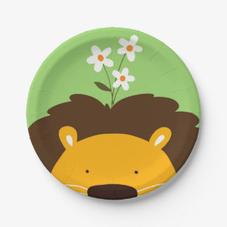 Lion 7 Inch Paper Plate